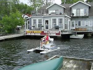 Rent a boat at Tara's Wharf!